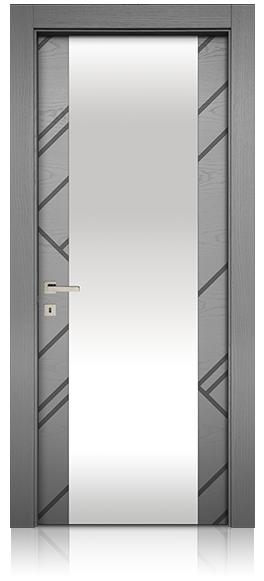 due-linee-tinta-piatta-vetro-porta-mdoor-micheloni-porte-legno-massello