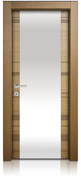 due-righe-tinta-piatta-vetro-porta-mdoor-micheloni-porte-legno-massello