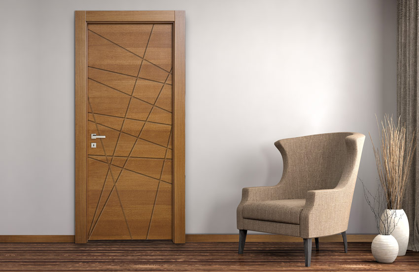 Porte In Legno Moderne : Mdoor porte interne stapa digitale su legno e vetro intarsi