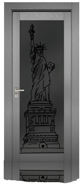 P15-pglass-statua-libertà-frassino-laccato-poro-aperto-mdoor-micheloni-porte