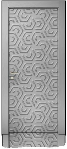 stampa-digitale-frigio-nuvola-esagoni-effetto-inciso-frassino-mdoor-micheloni-porte